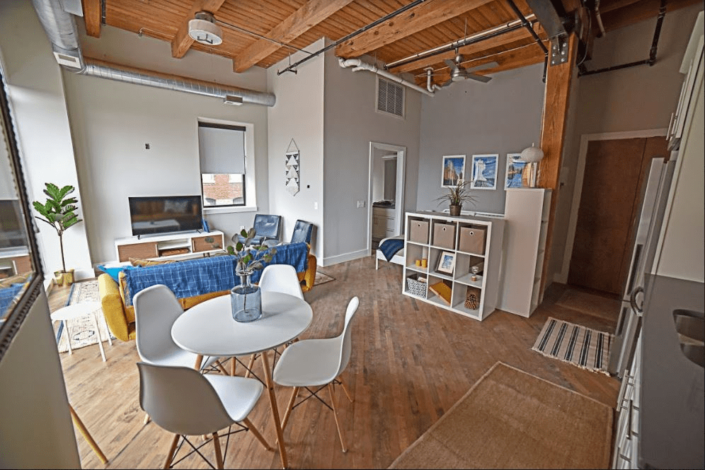 Studio 1 Bathroom Apartment for rent at Oggi Lofts | Luxury Apartments in Kansas City, MO