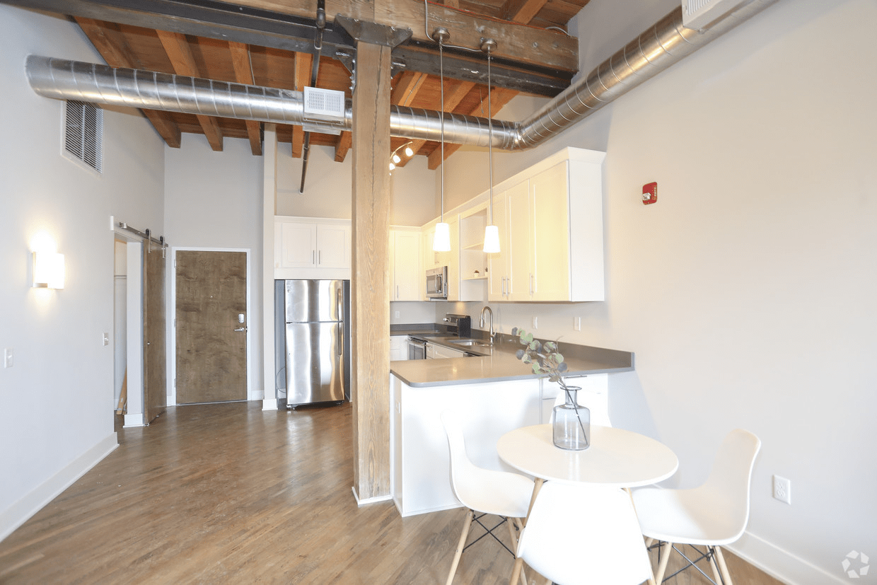 2 Bedrooms 1 Bathroom Apartment for rent at Oggi Lofts | Luxury Apartments in Kansas City, MO