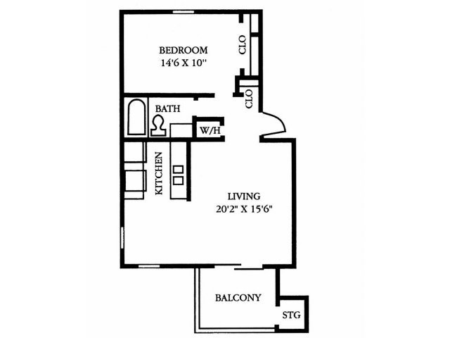 1 Bedroom 1 Bathroom Apartment for rent at The Preserve At Pine Valley in Wilmington, NC