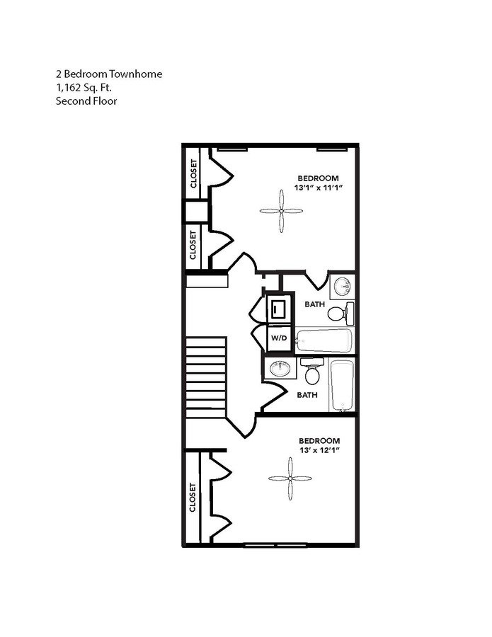 2 Bedrooms 2 Bathrooms Apartment for rent at Balfour West Apartments in Durham, NC