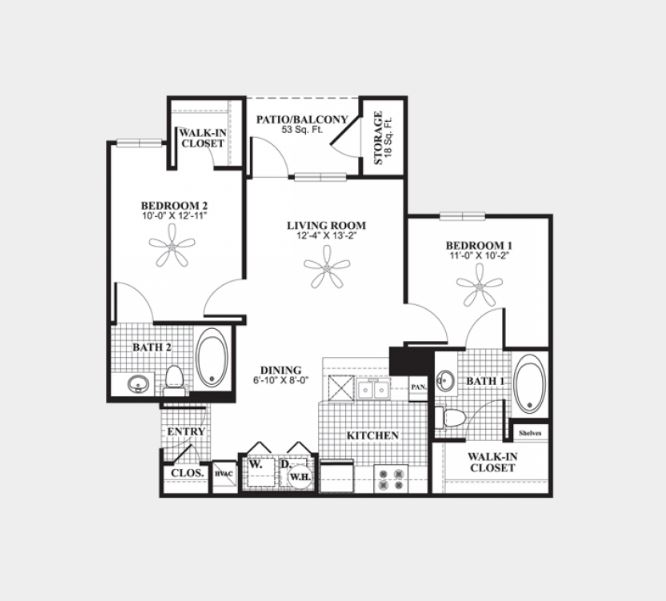 2 Bedrooms 2 Bathrooms Apartment for rent at The Connection At Auburn in Auburn, AL