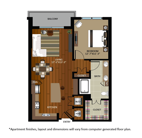 1 Bedroom 1 Bathroom Apartment for rent at Gables Cherry Creek in Denver, CO