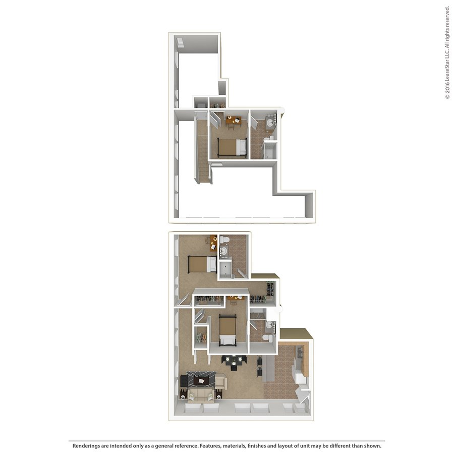 3 Bedrooms 3 Bathrooms Apartment for rent at Sydney Hall And Dinkydome in Minneapolis, MN
