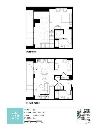1 Bedroom 2 Bathrooms Apartment for rent at Aster Tower in Portland, OR