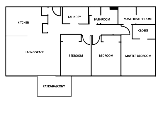 3 Bedrooms 2 Bathrooms Apartment for rent at Axis At 739 in Salt Lake City, UT