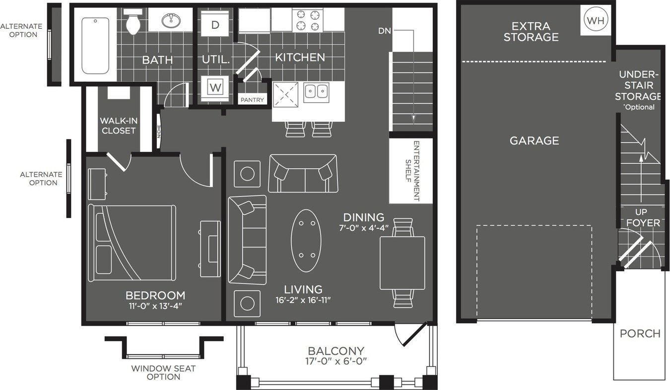1 Bedroom 1 Bathroom Apartment for rent at The Mansions At Briggs Ranch in San Antonio, TX