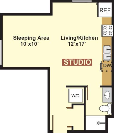 Studio 1 Bathroom Apartment for rent at 823 15th Ave Se in Minneapolis, MN
