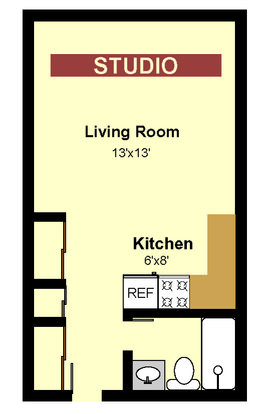 Studio 1 Bathroom Apartment for rent at 817 12th Ave Se in Minneapolis, MN