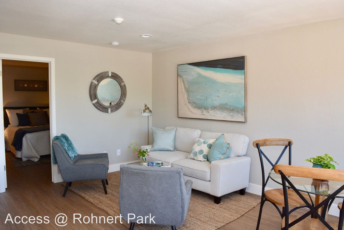 1 Bedroom 1 Bathroom Apartment for rent at 8288 Lancaster Drive in Rohnert Park, CA