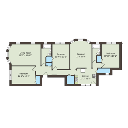 3 Bedrooms 2 Bathrooms Apartment for rent at 925 East 46th Street in Chicago, IL