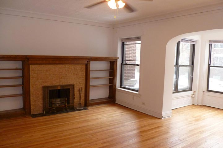 4 Bedrooms 2 Bathrooms Apartment for rent at 5335-5337 S. Woodlawn Avenue in Chicago, IL