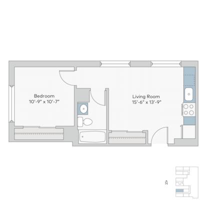 1 Bedroom 1 Bathroom Apartment for rent at Ambassador in Kansas City, MO