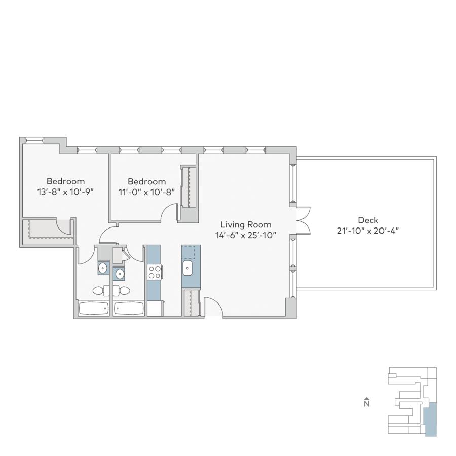 2 Bedrooms 2 Bathrooms Apartment for rent at Ambassador in Kansas City, MO