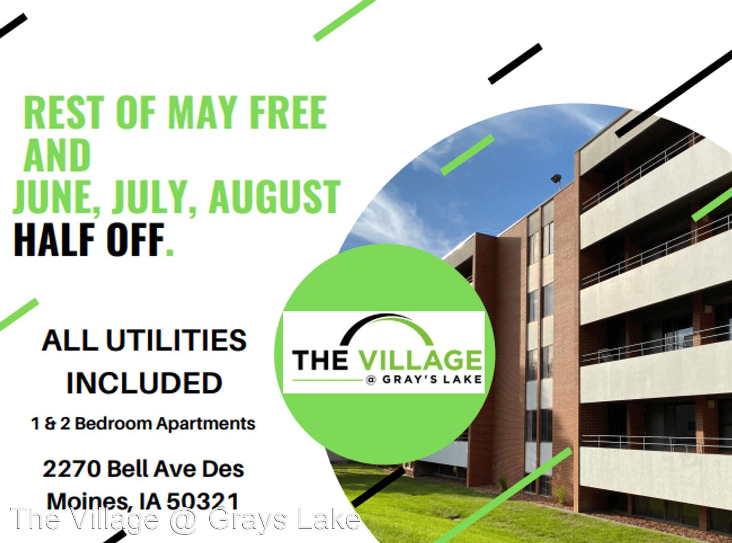 Apartments Near Vatterott College-Des Moines The Village @ Grays Lake for Vatterott College-Des Moines Students in Des Moines, IA