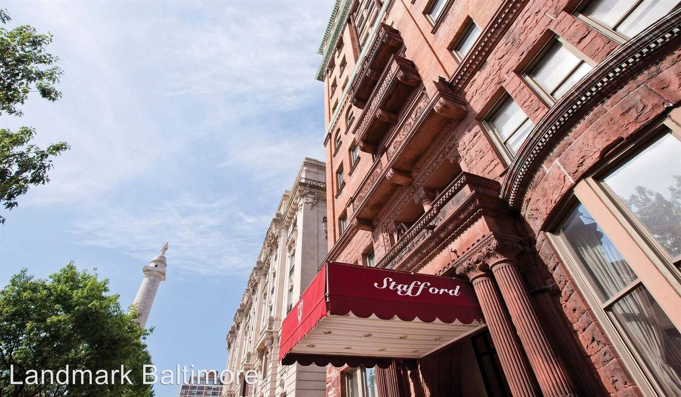 1 Bedroom 1 Bathroom Apartment for rent at The Stafford Apartments in Baltimore, MD