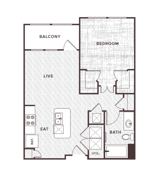 1 Bedroom 1 Bathroom Apartment for rent at Soco At Tower Point in College Station, TX