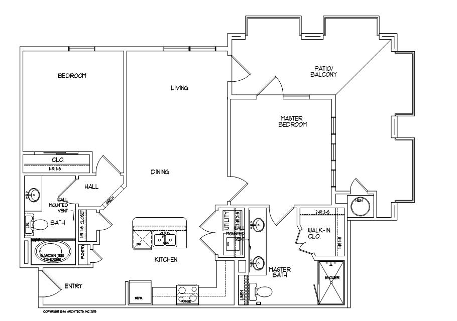 2 Bedrooms 2 Bathrooms Apartment for rent at Mela in San Antonio, TX