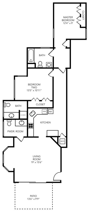 2 Bedrooms 2 Bathrooms Apartment for rent at Addison Flats in Tampa, FL