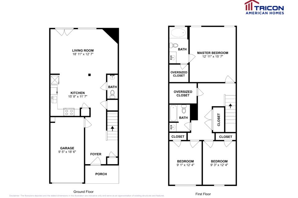 3 Bedrooms 2 Bathrooms House for rent at 226 White Mountain Pass Mcdonough Ga in Mcdonough, GA