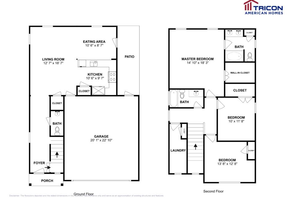 3 Bedrooms 2 Bathrooms House for rent at 2511 Salem Glen Crossing in Murfreesboro, TN