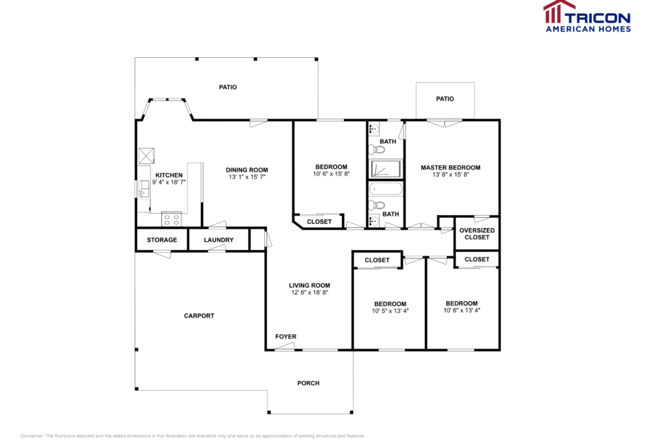 4 Bedrooms 2 Bathrooms House for rent at 7114 W Canterbury Drive in Peoria, AZ