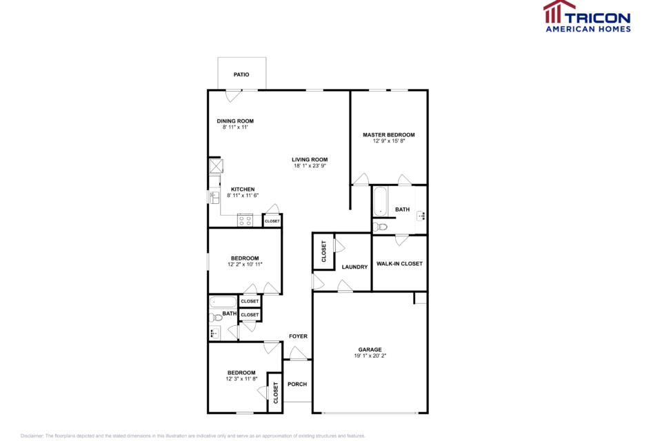 3 Bedrooms 2 Bathrooms House for rent at 311 Alexander Lane Bethlehem Ga in Bethlehem, GA