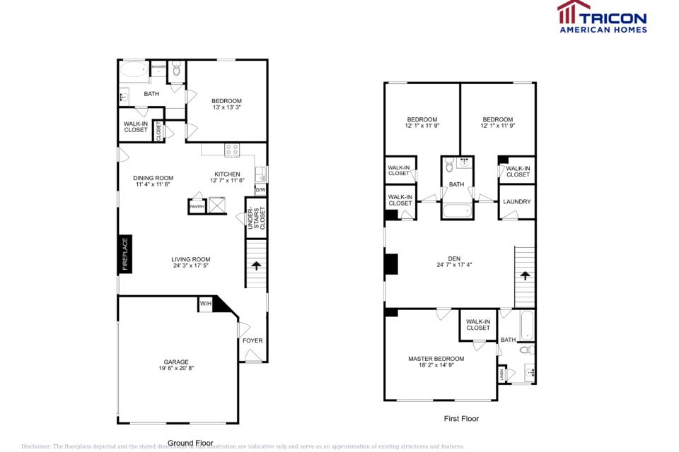 4 Bedrooms 3 Bathrooms House for rent at 112 Emporia Loop Mcdonough Ga in Mcdonough, GA