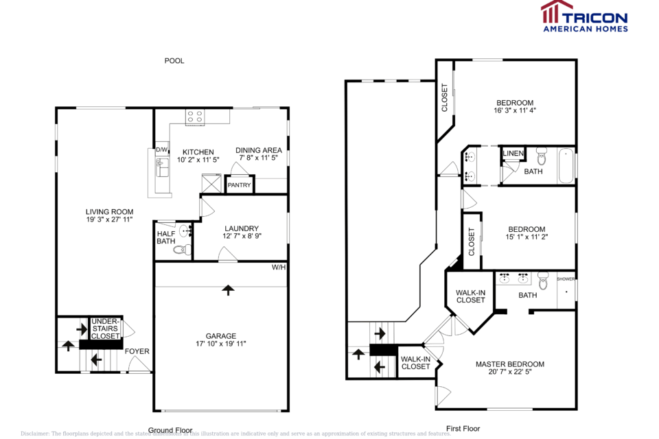 3 Bedrooms 2 Bathrooms House for rent at 18509 N 20Th Place Phoenix Az in Phoenix, AZ