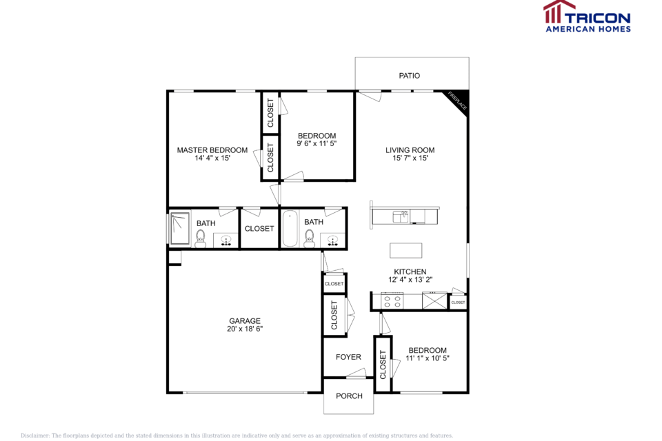 3 Bedrooms 2 Bathrooms House for rent at 19 Hill Side Way Hiram Ga in Hiram, GA