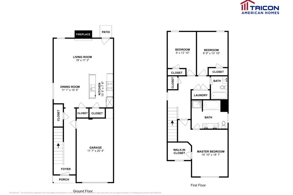 3 Bedrooms 2 Bathrooms House for rent at 394 Lossie Lane Mcdonough Ga in Mcdonough, GA