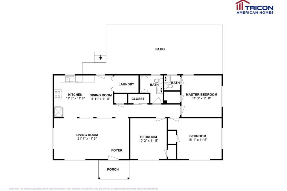 3 Bedrooms 1 Bathroom House for rent at 1325 Richard Rd Decatur GA in Decatur, GA
