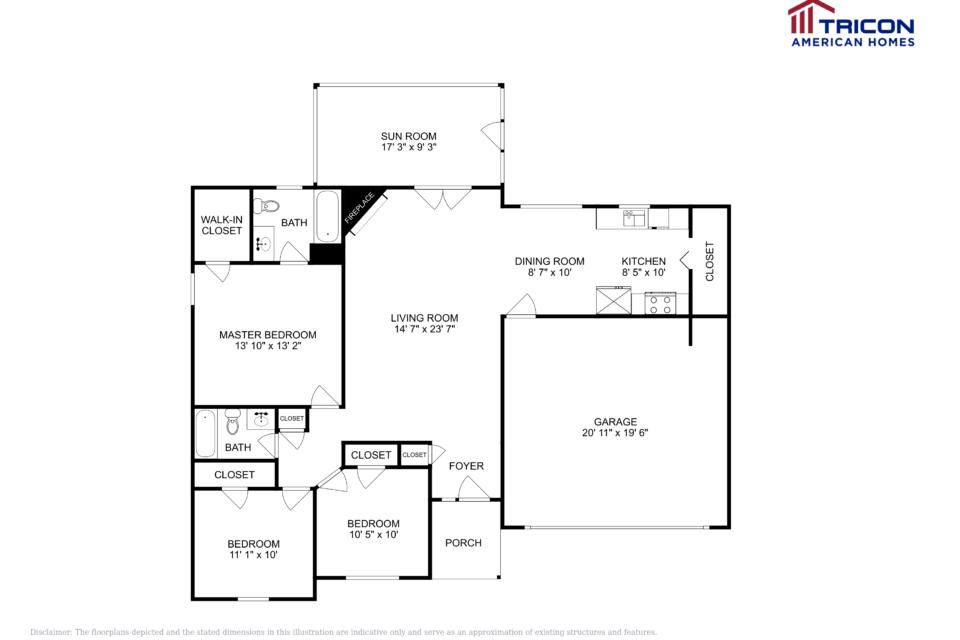 3 Bedrooms 2 Bathrooms House for rent at 4770 Estuary Circle Acworth GA in Acworth, GA
