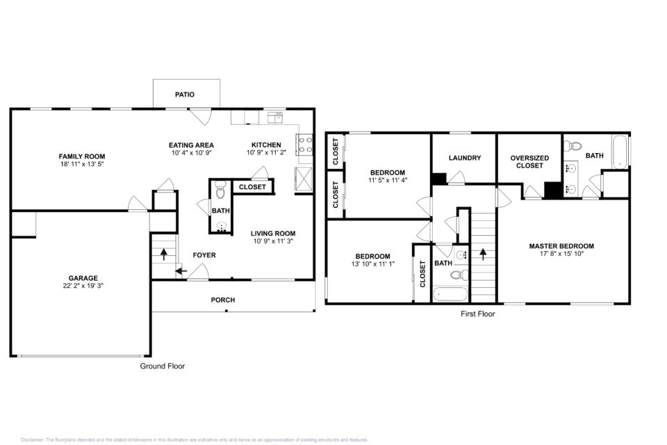 3 Bedrooms 2 Bathrooms House for rent at 61 Red Maple Way Dallas GA in Dallas, GA