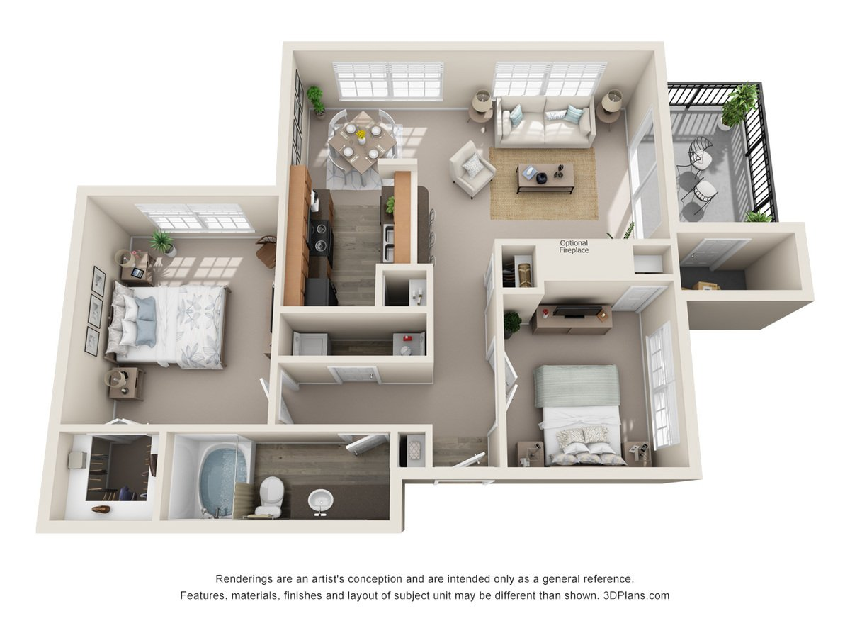 1 Bedroom 1 Bathroom Apartment for rent at Talavera Apartments in San Antonio, TX