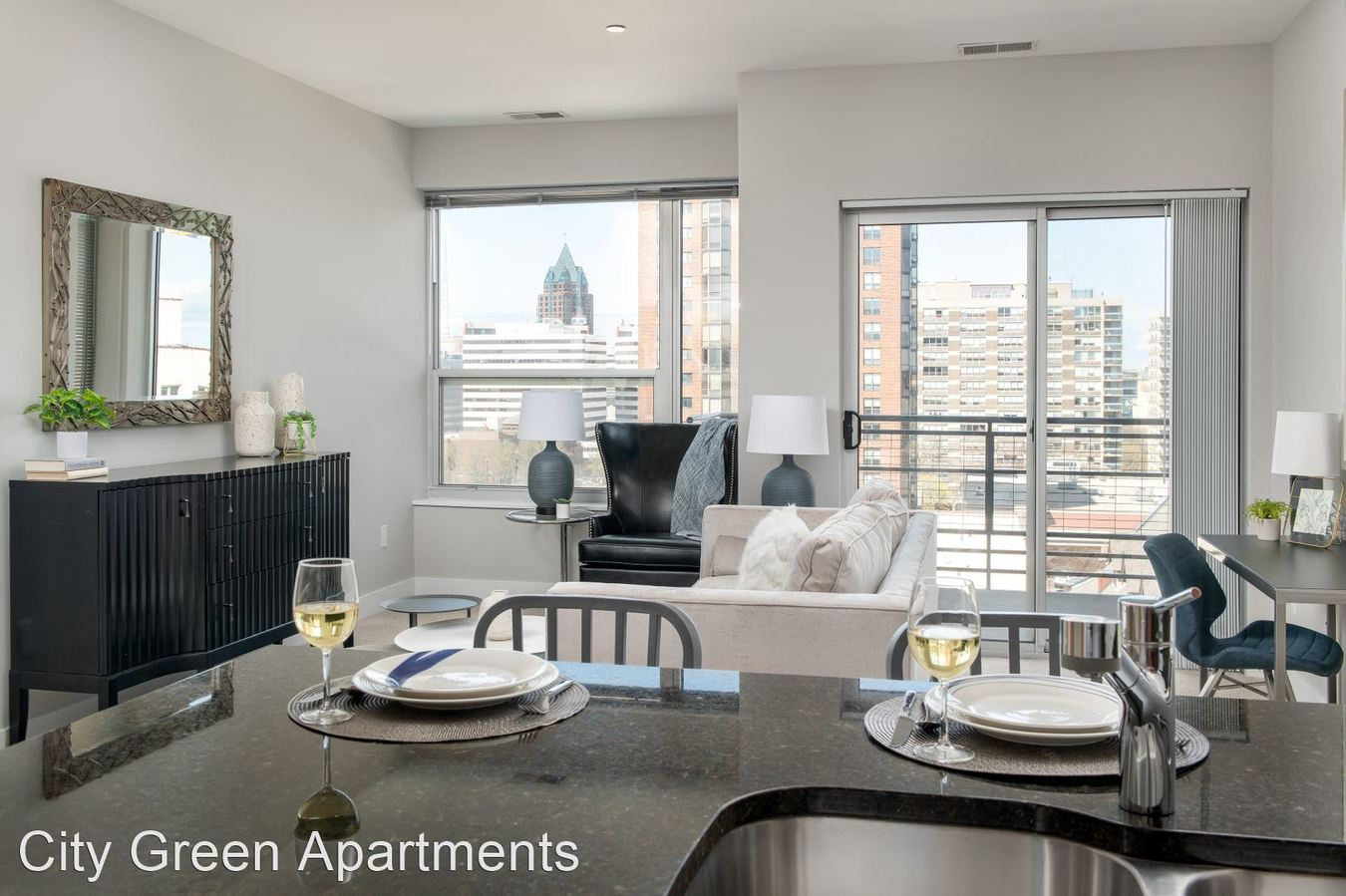 1 Bedroom 1 Bathroom Apartment for rent at City Green Apartments in Milwaukee, WI