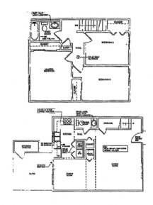 3 Bedrooms 2 Bathrooms Apartment for rent at Henderson Court Apartments in Bloomington, IN