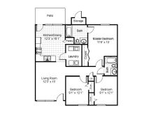 3 Bedrooms 2 Bathrooms Apartment for rent at Zebulon Park Apartments in Batavia, OH