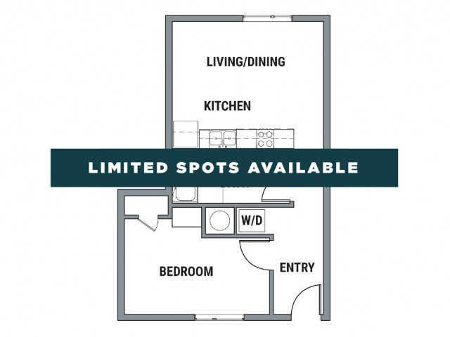 1 Bedroom 1 Bathroom Apartment for rent at Element - The Sonja in Eugene, OR