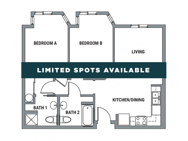 2 Bedrooms 2 Bathrooms Apartment for rent at Element - Westgate in Eugene, OR
