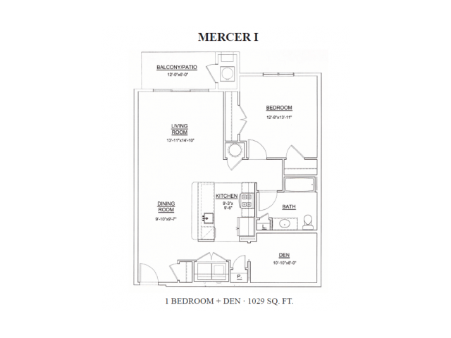 1 Bedroom 1 Bathroom Apartment for rent at Heritage Court Apartments in Ewing, NJ