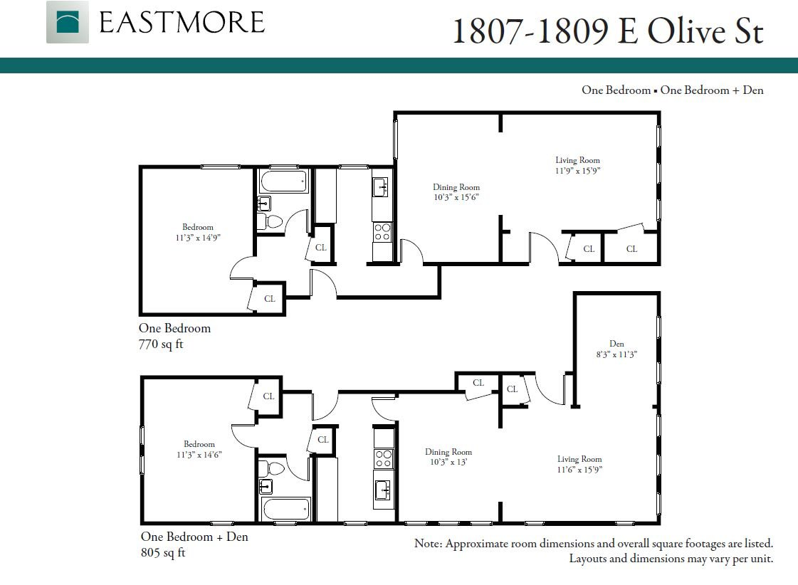 1 Bedroom 1 Bathroom Apartment for rent at 1807- 09 E. Olive St. in Shorewood, WI
