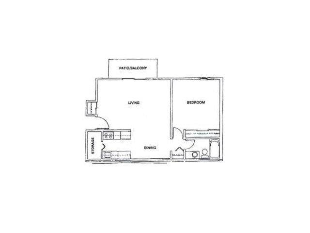 1 Bedroom 1 Bathroom Apartment for rent at Glen Hills in Glendale, WI