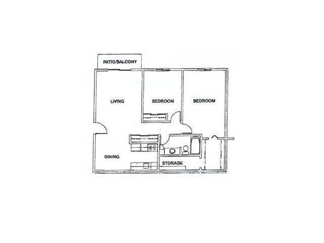 2 Bedrooms 1 Bathroom Apartment for rent at Glen Hills in Glendale, WI