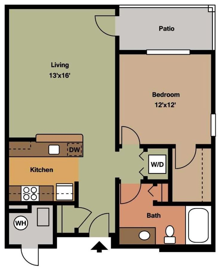 1 Bedroom 1 Bathroom Apartment for rent at Chatham Commons Of Cranberry in Cranberry Twp, PA