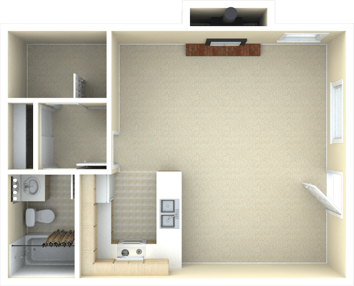 Studio 1 Bathroom Apartment for rent at Toscana in Westminster, CO
