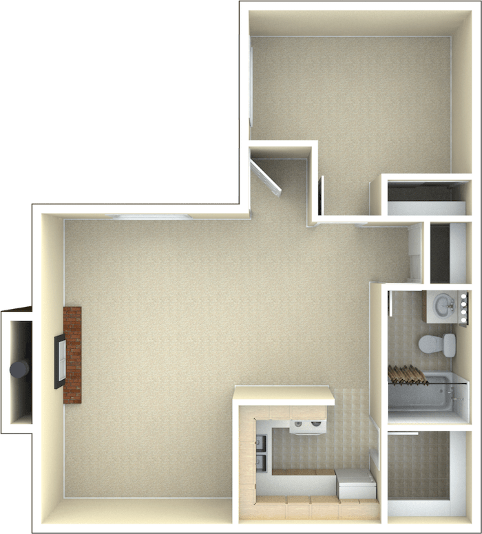 1 Bedroom 1 Bathroom Apartment for rent at Toscana in Westminster, CO
