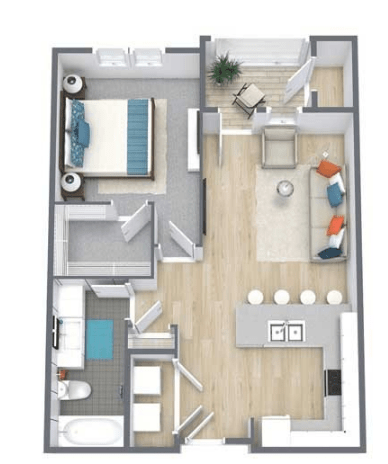 1 Bedroom 1 Bathroom Apartment for rent at Legacy On The Promenade in Westminster, CO