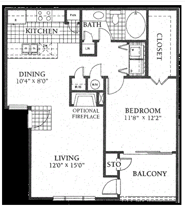 1 Bedroom 1 Bathroom Apartment for rent at The Vintage At Hyland Hills in Westminster, CO