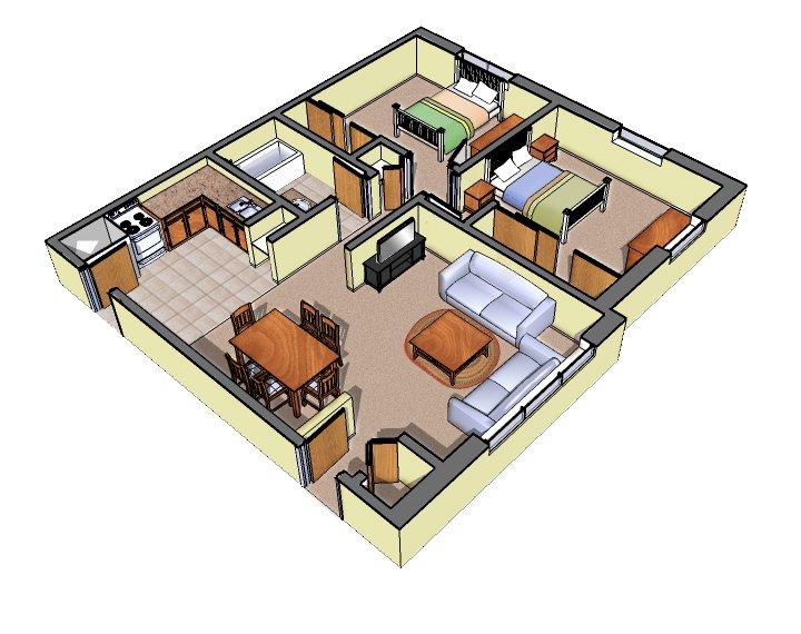 2 Bedrooms 1 Bathroom Apartment for rent at W156 N11374 Pilgrim Road, Apt. #38 in Germantown, WI