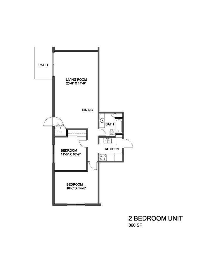 3 Bedrooms 1 Bathroom Apartment for rent at 4608 South 20th Street in Milwaukee, WI